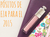 TAG: propósitos belleza para 2015