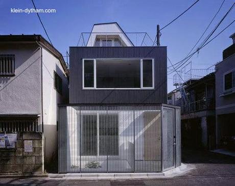 Casa Moderna Japonesa De 4 Plantas En Lote De Esquina
