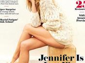 Jennifer Aniston posa para Hollywood reporter