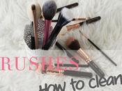 Como lavar brochas maquillaje