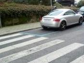 Policía municipal Vigo aparca diario plaza para