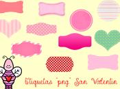 """Etiquetas """"San Valentin"""""""