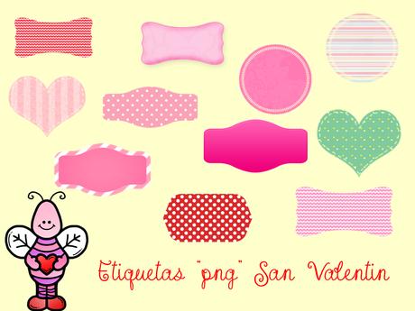 """Etiquetas en png """"San Valentin"""" - Paperblog"""