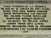 Homenaje Murillo Plaza Santa Cruz.