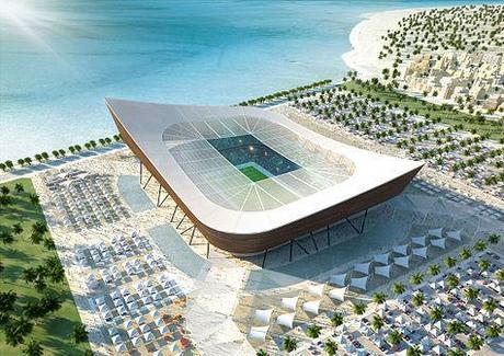 Estadio proyectado para el Mundial 2022
