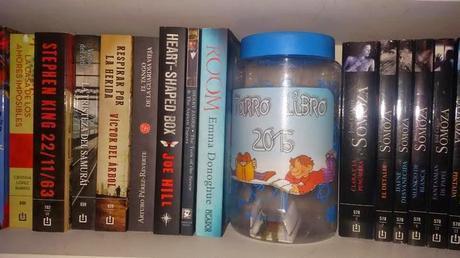 Reto 'Tarro-libros 2015'