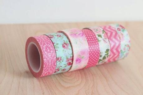 10 ideas para decorar tu boda con washi tape paperblog - Decorar con washi tape ...