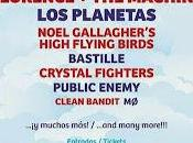 2015: Prodigy, Portishead, Florence Machine, Noel Gallagher, Planetas, Bastille, Public Enemy...