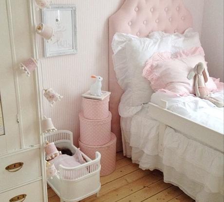 Ideas deco habitaciones infantiles de estilo n rdico para for Cuartos para ninas vintage