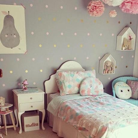 Ideas deco habitaciones infantiles de estilo n rdico para - Decoracion habitacion infantil nina ...
