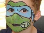 Disfraz infantil casero Tortugas Ninja para Carnaval