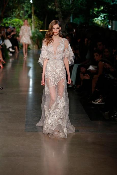 dfbc72de9 Elie Saab Alta Costura Primavera 2015 Vestidos De Nostalgia Paperblog