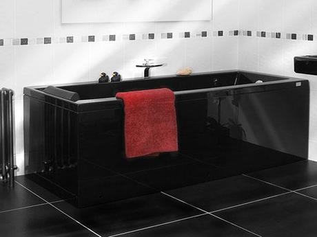 Tips decoracion ba os color negro paperblog - Bano de color negro ...