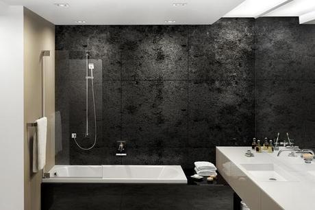 Tips decoracion ba os color negro paperblog for Bano de color negro