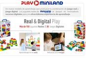 Play Miniland, combinación juego real digital Miniland Educational.