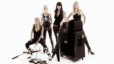 TOP TEN (144): DIEZ BANDAS FORMADAS SÓLO POR MUJERES (2). TEN ALL FEMALE ROCK BANDS (2).