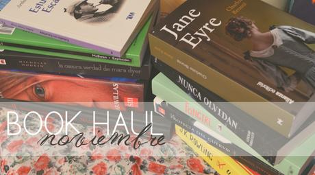 book haul: noviembre