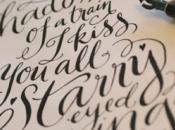 Digitalización caligráfica