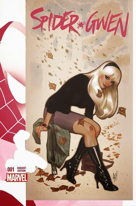 Portadas alternativas para 'Spider-Gwen' #1