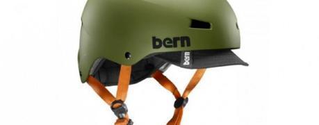 Casco Bern Macon Verde mate: el casco de camuflaje para tus escapadas cicloturistas