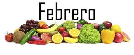Fruta y verdura de temporada: Febrero