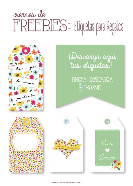 Etiquetas para regalos descargables gratis para imprimir - Etiquetas para regalos para imprimir ...