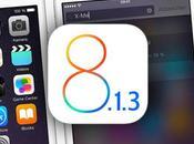 Mejoras 8.1.3 Apple