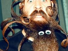 Este hombre hace barba majestuoso maravilloso arte