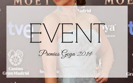 EVENT. LA ALFOMBRA ROJA DE LOS GOYA 2014