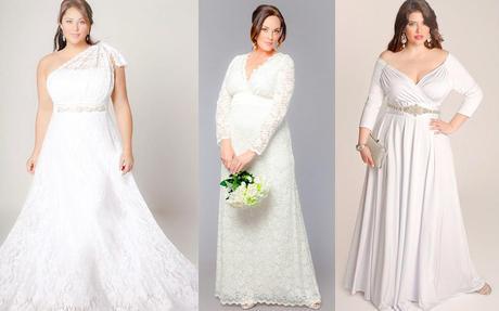 Los más Bellos Vestidos de Novias para Gorditas - Paperblog