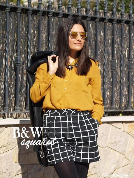 OUTFIT B&W SQUARES
