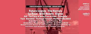 MBC Fest 2015: La Roux, The Pains of Being Pure at Heart, Yuck, The Royal Concept, Javiera Mena, Ellos...