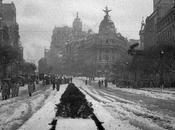 Fotos antiguas: Calle Alcalá nevada