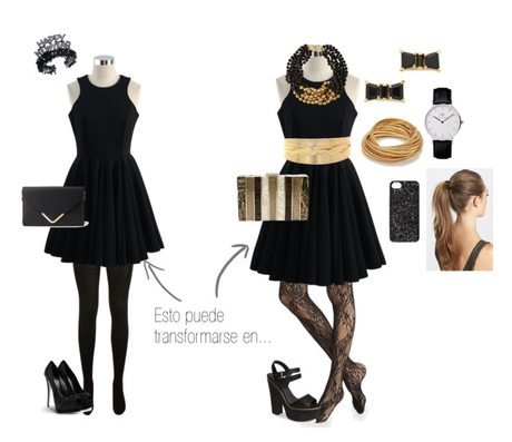 Cómo reinventar un vestido para Nochevieja