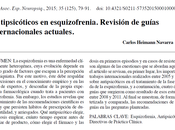 Antipsicóticos esquizofrenia Carlos Heimann