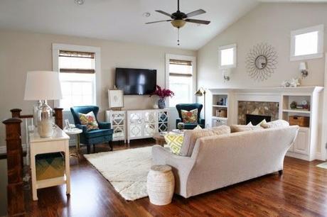 Una practica sala de estar y oficina paperblog for Sala de estar oficina