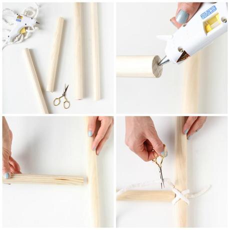 Diy como hacer una escalera decorativa paperblog for Como hacer una escalera en l