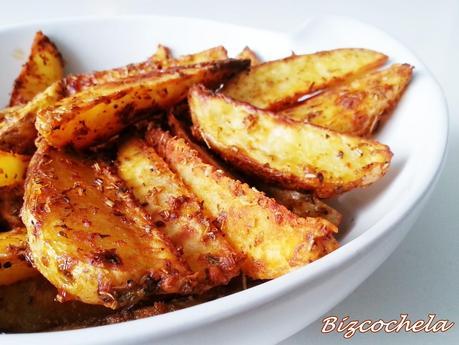 Patatas de luxe o patatas gajo al horno paperblog for Cocinar patatas al horno