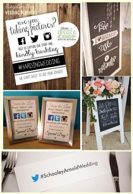 Las redes sociales pueden ser una buena alternativa para recopilar las fotos de vuestra boda desde el punto de vista de vuestros invitados