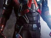 1era mirada Brandon Routh traje Atom serie Arrow