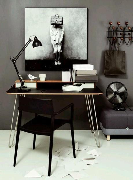 10 escritorios en blanco y negro paperblog - Escritorios en blanco ...