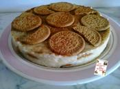 Tarta arroz leche galletas