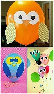 ideas originales para decorar globos de cumpleaos