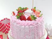 Chocolate Strawberry Layer Cake (Pastel chocolate fresa)... ¡ideal para Valentín!