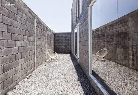 Moderna casa caja de bloques de concreto y bajo costo - Precio bloque de hormigon bricodepot ...