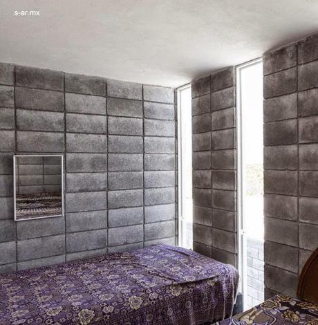 Moderna casa caja de bloques de concreto y bajo costo for Casas de cemento