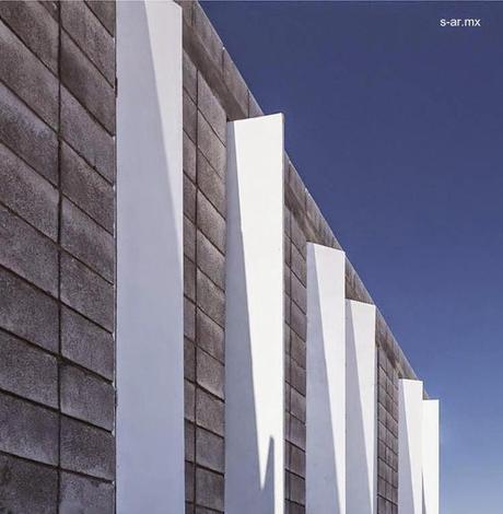 Moderna casa caja de bloques de concreto y bajo costo for Moderna casa di cemento