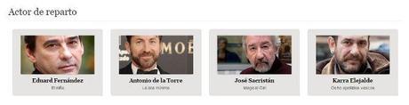 los goya 2015 - mejor actor de reparto