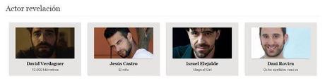 los goya 2015 - mejor actor revelacion