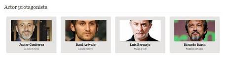 los goya 2015 - mejor actor protagonista